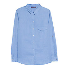 Buy Violeta by Mango Linen Pocket Shirt Online at johnlewis.com