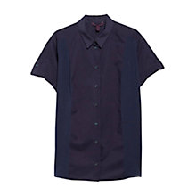 Buy Violeta by Mango Panel Detail Cotton Shirt Online at johnlewis.com