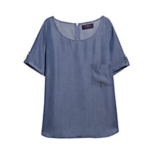 Buy Violeta by Mango Short Sleeved Soft Shirt Online at johnlewis.com
