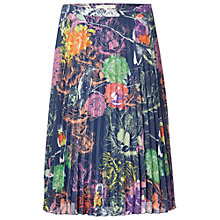 Buy White Stuff Bird of Paradise Midi Skirt, Multi Online at johnlewis.com