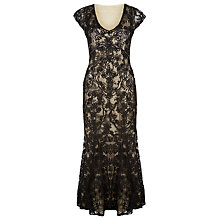 Buy Jacques Vert Cornelli Tape Evening Dress, Multi Black Online at johnlewis.com