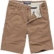 Buy Fat Face Children's Lincoln Shorts, Natural Online at johnlewis.com