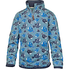 Buy Fat Face Boys' Cotton Angler Fish Sweatshirt, Blue Online at johnlewis.com