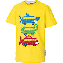 Buy Fat Face Boys' Campervan T-Shirt, Yellow Online at johnlewis.com