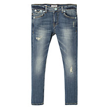 Buy Mango Kids Boys' Wash Wear Skinny Jeans, Blue Online at johnlewis.com