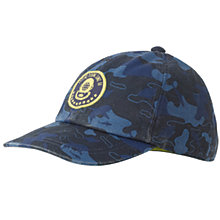 Buy Fat Face Children's Map Print Cap, Navy Online at johnlewis.com