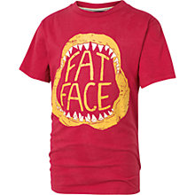 Buy Fat Face Boys' Jaw T-Shirt, Red Online at johnlewis.com