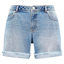 Buy Whistles Frayed Boyfriend Shorts Online at johnlewis.com