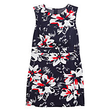 Buy Mango Printed Retro Dress, Navy Online at johnlewis.com