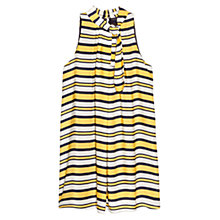 Buy Mango Striped Bow Dress, Multi Online at johnlewis.com