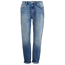 Buy Whistles Boyfriend Jeans, Pale Denim Online at johnlewis.com