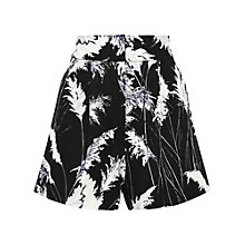 Buy Whistles Pari Print Shorts, Black / White Online at johnlewis.com