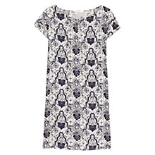 Buy Mango Baroque Print Dress, Multi Online at johnlewis.com