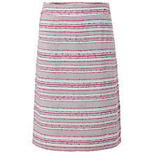 Buy White Stuff Cayo Stripe Skirt, Parma Violet Online at johnlewis.com
