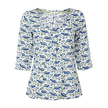 Buy White Stuff Chameleon Top, White Online at johnlewis.com
