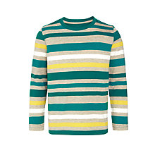 Buy John Lewis Boy Multi-Stripe Long Sleeve T-Shirt Online at johnlewis.com