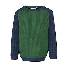 Buy John Lewis Boy Block Colour Knit Jumper Online at johnlewis.com