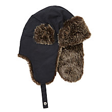 Buy John Lewis Children's Wax Trapper Hat Online at johnlewis.com