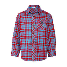 Buy John Lewis Boy Check Twill Shirt Online at johnlewis.com