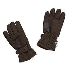 Buy John Lewis Quilted Gloves, Olive Online at johnlewis.com