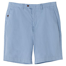 Buy Jigsaw Fine Cotton Twill Garment Dye Shorts Online at johnlewis.com