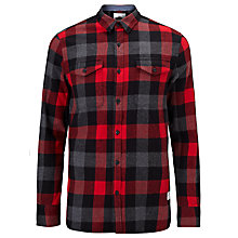 Buy Penfield Chatham Buffalo Plaid Shirt, Red/Grey Online at johnlewis.com