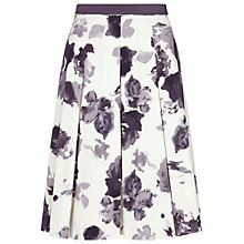 Buy Damsel in a dress Gallery Skirt, Black / White Online at johnlewis.com