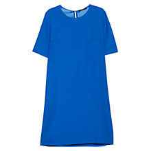 Buy Mango Pocket Shift Dress, Cobalt Blue Online at johnlewis.com