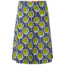 Buy White Stuff Drums Print Reversible Cotton Skirt, Navy Online at johnlewis.com