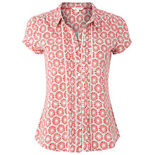 Buy White Stuff Exotic Jersey Shirt, Paradise Coral Online at johnlewis.com