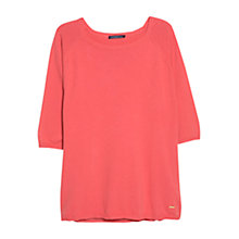 Buy Violeta by Mango Essential Cotton-Blend Jumper Online at johnlewis.com