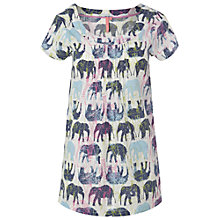 Buy White Stuff Elephant Tunic Dress, White/Multi Online at johnlewis.com