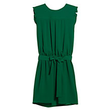 Buy Mango Bow Stitch Dress, Nile Green Online at johnlewis.com