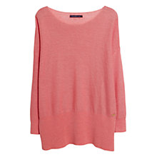 Buy Violeta by Mango Linen Jumper Online at johnlewis.com