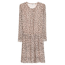 Buy Mango Printed Button Dress, Wild Aster Online at johnlewis.com