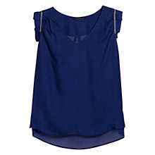Buy Violeta by Mango Ruffle Bead Blouse Online at johnlewis.com