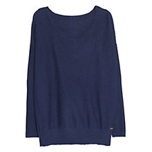 Buy Violeta by Mango Textured Cotton Jumper Online at johnlewis.com