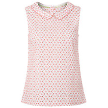 Buy White Stuff Daisy Chain Vest Top, Orange Online at johnlewis.com