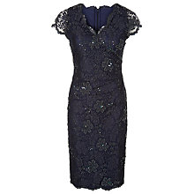 Buy Jacques Vert Mid Lace Evening Dress Online at johnlewis.com