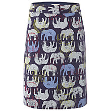 Buy White Stuff Ellie The Elephant Skirt, Navy Online at johnlewis.com