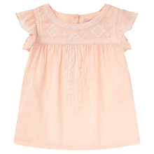 Buy Jigsaw Junior Girls' Broidery Blouse Online at johnlewis.com