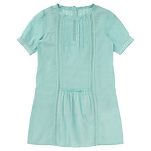 Buy Jigsaw Junior Girls' Lace Insert Dress, Mint Green Online at johnlewis.com