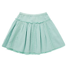 Buy Jigsaw Junior Girs' Lace Insert Skirt, Mint Green Online at johnlewis.com