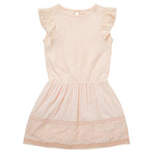 Buy Jigsaw Junior Girls' Woven Jersey Dress Online at johnlewis.com