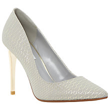 Buy Dune Betsee Reptile Pointed Court Shoes Online at johnlewis.com