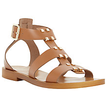 Buy Dune Lance Leather Gladiator Sandals Online at johnlewis.com