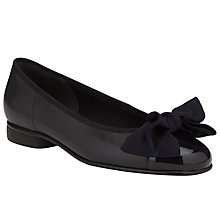 Buy Gabor Amy Ballerina Leather Patent Pumps Online at johnlewis.com