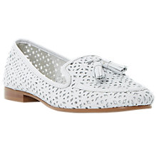 Buy Dune Galla Leather Tasselled Loafers Online at johnlewis.com