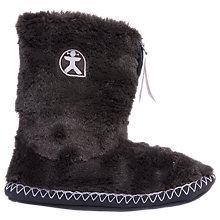 Buy Bedroom Athletics Marilyn Faux Fur Slipper Boots, Black Online at johnlewis.com