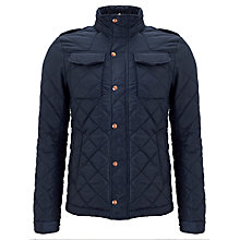 Buy Scotch & Soda Oxford Four Pocket Quilted Jacket, Night Online at johnlewis.com
